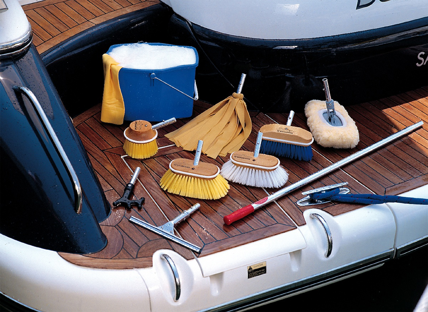 Image result for image yacht deck crew cleaning